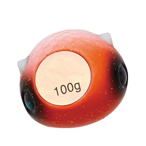 ダイワ(DAIWA) メタルジグ 紅牙 ベイラバーフリーTG α ヘッド 120g 紅牙オレンジ