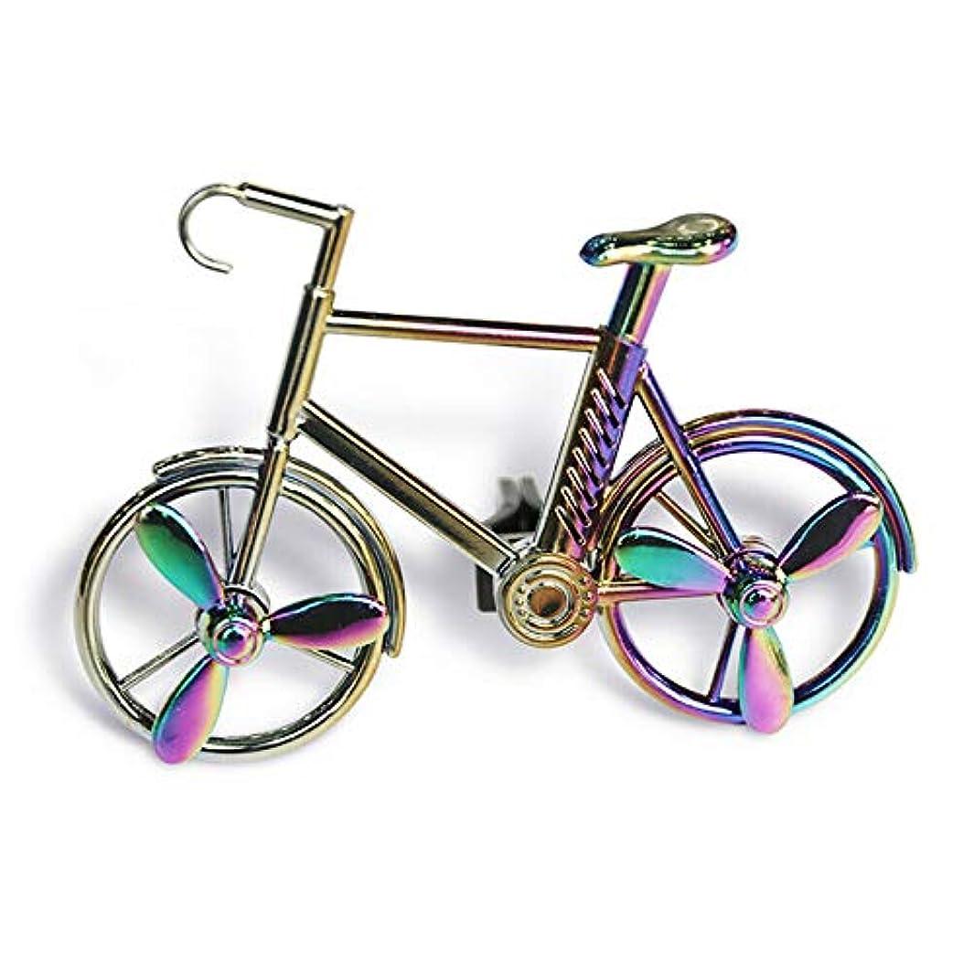 リーク定期的に話Symboat 車の芳香剤車の出口のアロマセラピーの自動車付属品の自転車の装飾品の固体芳香車の香水