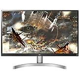 "LG 27UL600-W 27"" UHD 4K IPS Monitor, 5ms (GTG), HDMI, HDR, HDCP 2.2 Compatible, Radeon FreeSync, Screen Split, White"