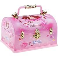 Fenteer オルゴール 音楽ボックス フォトフレーム 宝石類 収納 飾り 素敵 プレゼント 使いやすい