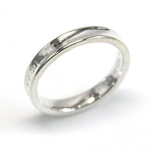 [ティファニー] TIFFANY スターリングシルバー 1837 ナローベーシック リング 指輪 【並行輸入品】 22992473 日本サイズ7号 (USサイズ4号)