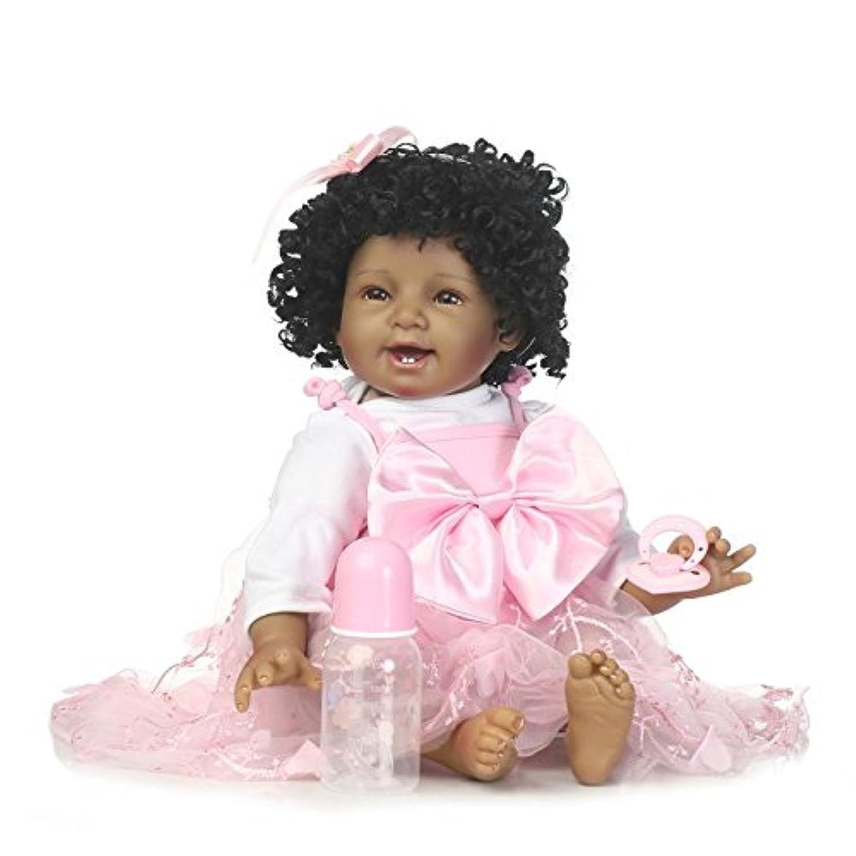 SanyDoll Rebornベビー人形ソフトSilicone 22インチ55 cm磁気Lovely Lifelike Cute Lovely Baby b0763ljy8t