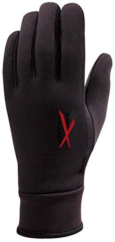 Seirus(セイラス) スキー・スノーボードグローブ 防水グローブ エキストリーム オールウェザー ブラック×レッド メンズ L 15126