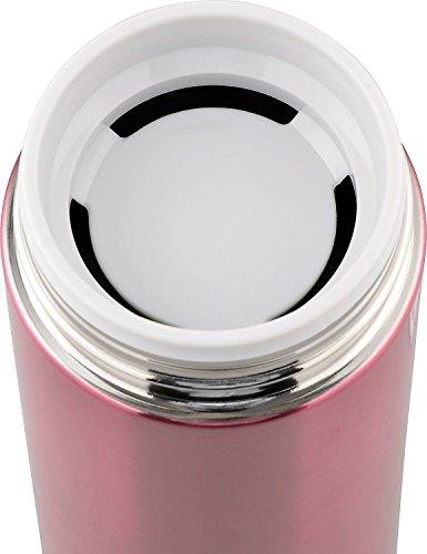 『和平フレイズ 水筒 マグボトル 600ml レッド 真空断熱 保温 保冷 サースティ フォルテックパーク FPR-6362』の7枚目の画像