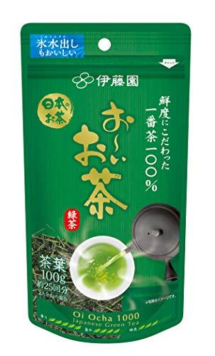 伊藤園 お~いお茶 1000 一番茶100% 1袋(100g)