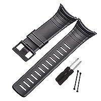 KESOTO ウォッチストラップ 腕時計バンド スントコアスマートウォッチブレスレット適用 柔らかく 柔軟性