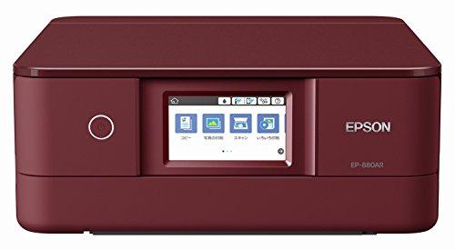 エプソン プリンター インクジェット複合機 カラリオ EP-880AR レッド(赤)