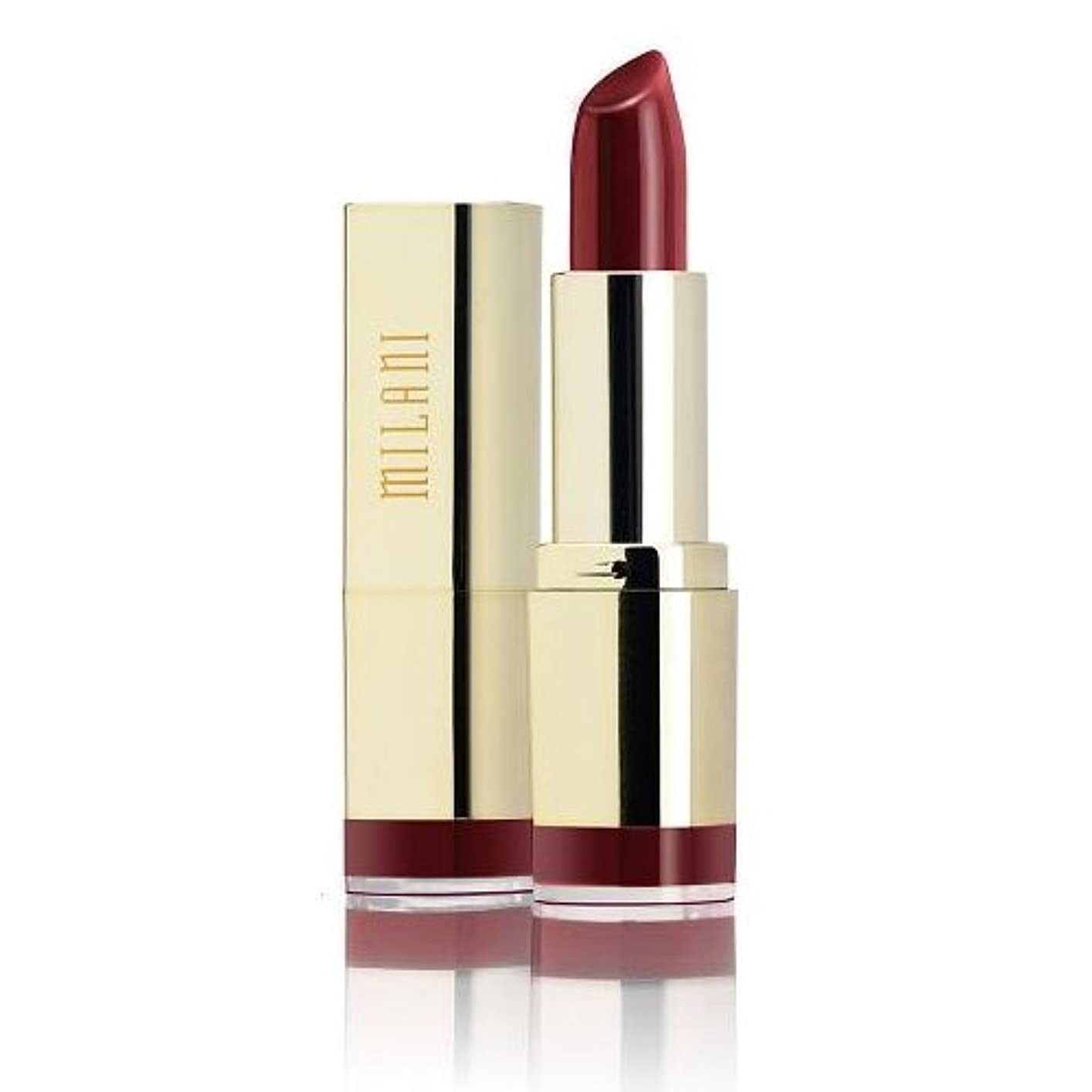 皮肉な一貫した比率MILANI Color Statement Lipstick - Velvet Merlot (並行輸入品)