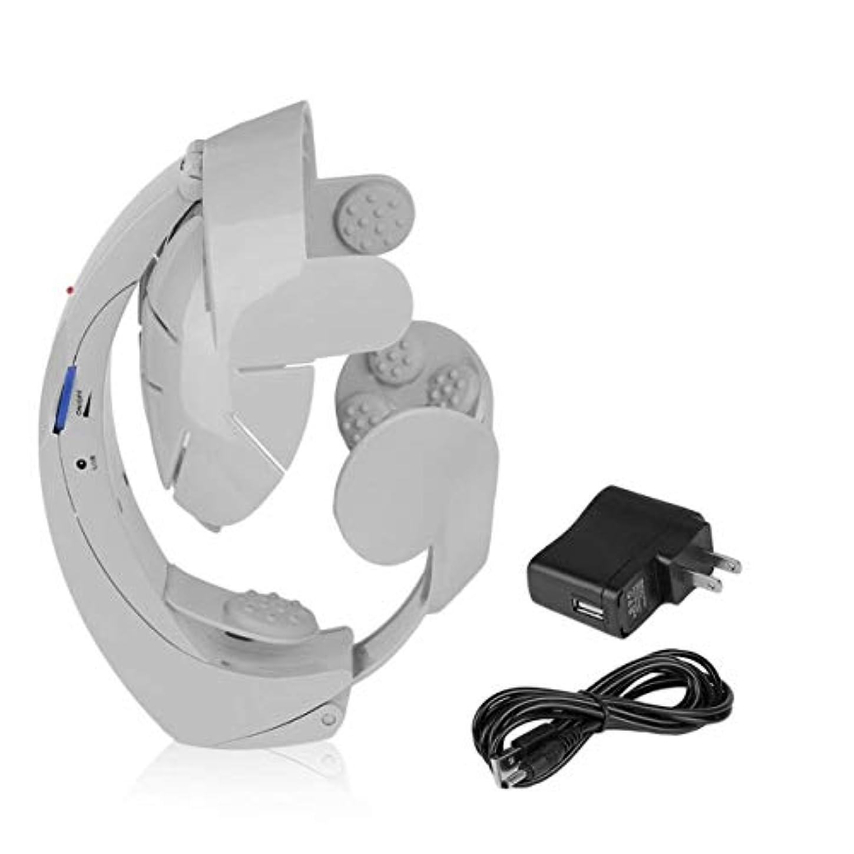 サイレンハードウェア無ヒューマノイドデザイン電動ヘッドマッサージ脳のマッサージリラックス簡単な鍼治療ファッションスタイルヘルスケアサプライ