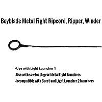 15 Beyblade ripcords – ブラック