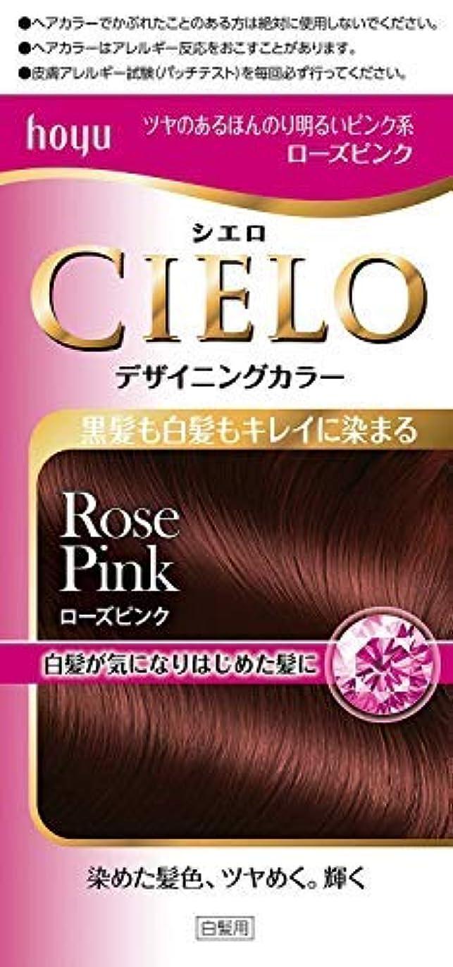 シエロ デザイニングカラー ローズピンク × 6個セット