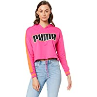 PUMA Women's Rebel Reload Cropped Hoodie