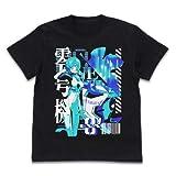 EVANGELION エヴァ零号機 アシッドグラフィックスTシャツ/BLACK-XL