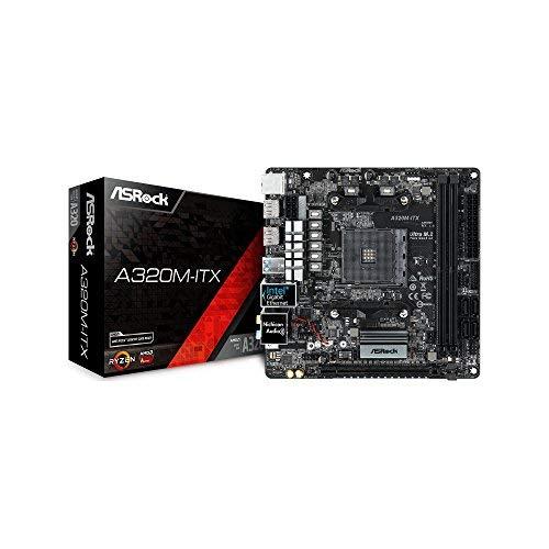 ASRock AMD A320チップ搭載 Mini-ITXマザーボード A320M-ITX