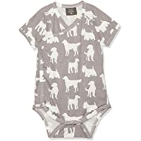 Kate Quinn Organics Unisex-Baby Long Sleeve Kimono Bodysuit