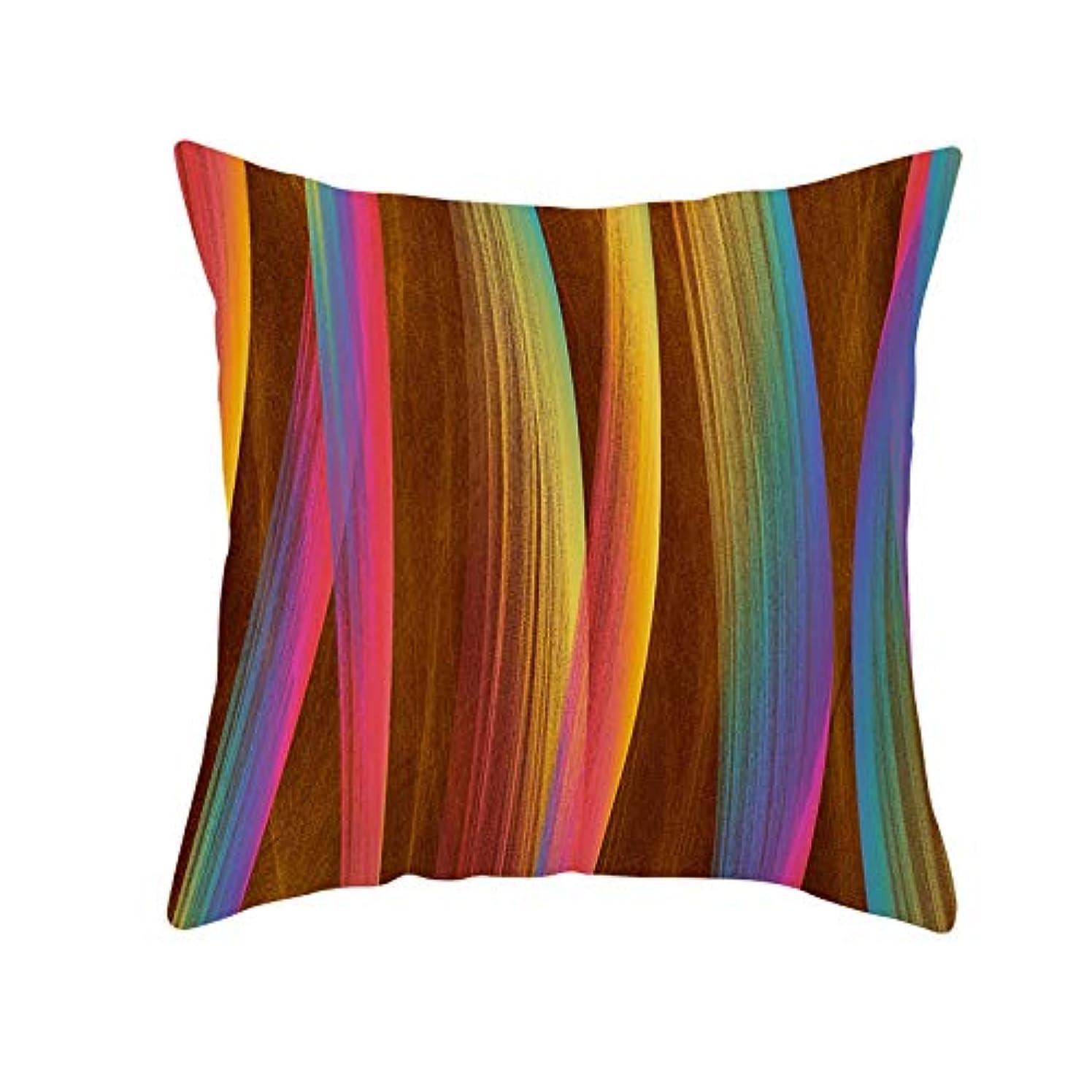 ギャラントリー同意するエーカーLIFE 装飾クッションソファ 幾何学プリントポリエステル正方形の枕ソファスロークッション家の装飾 coussin デ長椅子 クッション 椅子