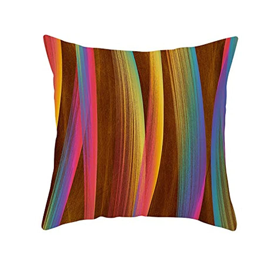 同種のミンチ日没LIFE 装飾クッションソファ 幾何学プリントポリエステル正方形の枕ソファスロークッション家の装飾 coussin デ長椅子 クッション 椅子