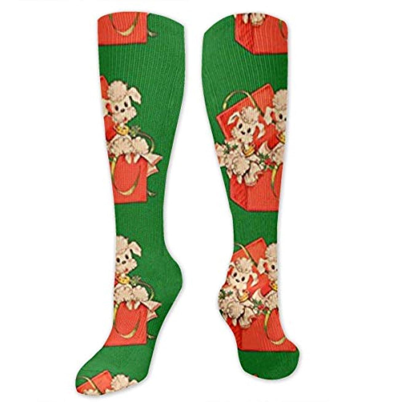 汚れた舞い上がるパニック靴下,ストッキング,野生のジョーカー,実際,秋の本質,冬必須,サマーウェア&RBXAA Poodles Socks Women's Winter Cotton Long Tube Socks Knee High Graduated...