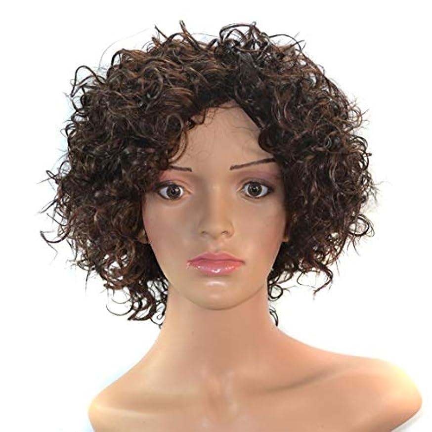 視力全くメカニックYOUQIU 女性の自然な人工毛かつらのための14