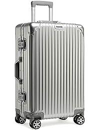 kroeus(クロース)スーツケース キャリーケース アルミ合金ボディ カバン掛け TSAロック搭載 8輪キャスター フレームタイプ 1年間保証サービス