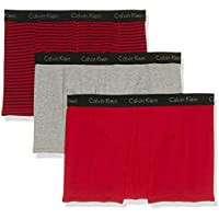 Calvin Klein Men's Underwear Elements Trunks (3 Pack)
