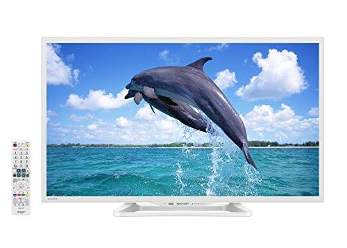 RoomClip商品情報 - シャープ 32V型 AQUOS ハイビジョン 液晶テレビ ホワイト 外付HDD対応(裏番組録画) LC-32W25-W