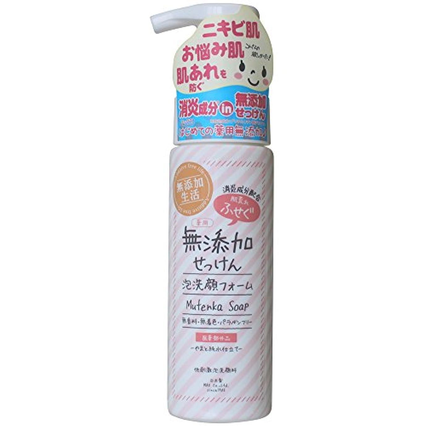 巧みなバドミントン行動肌荒れ防ぐ薬用無添加 洗顔フォーム 200mL