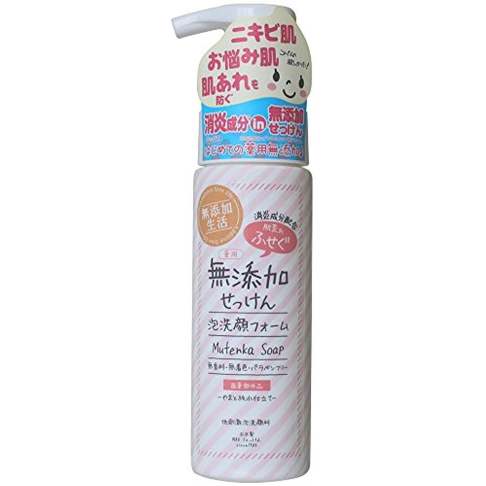 赤道黄ばむ溶かす肌荒れ防ぐ薬用無添加 洗顔フォーム 200mL
