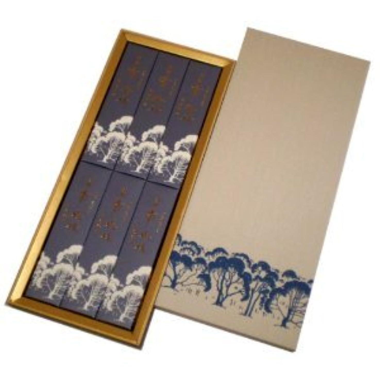 平日マーケティング付添人玉初堂 淡麗香樹林 短寸6箱入化粧紙箱