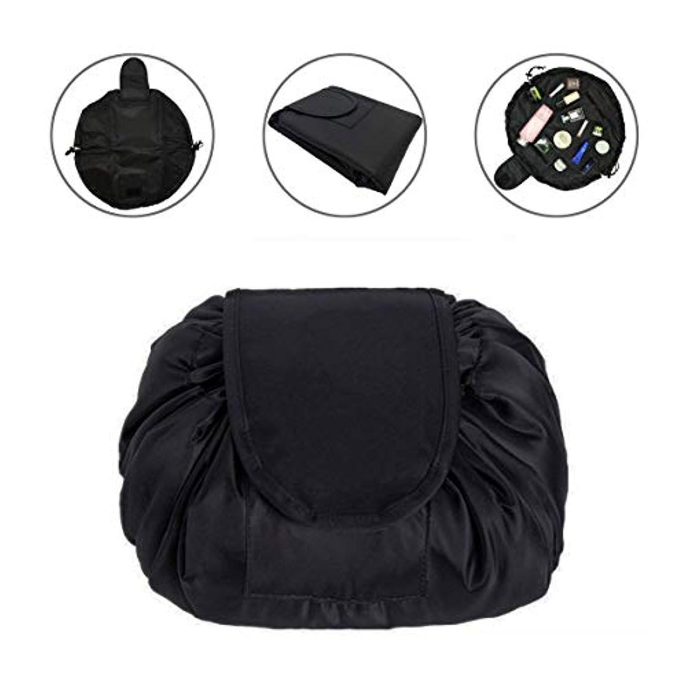 ファイル右ハック化粧バッグ 化粧ポーチ メイクバッグ 化粧品収納バッグ 折畳式