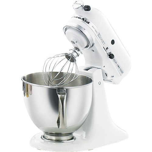 KitchenAid ミキサー ホワイト KSM150WH