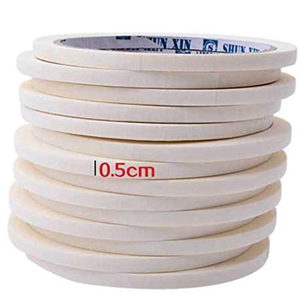 AAcreatspaceネイルテープ0.5センチマスキングテープ装飾パターンマニキュアツールマニキュアネイルアートマニキュア用ネイルテープアクセサリー