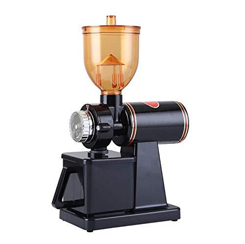 電動コーヒーミル コーヒーミル コーヒーグラインダー 電動ミル 8段階変速調整 1年間品質保証 ブラック