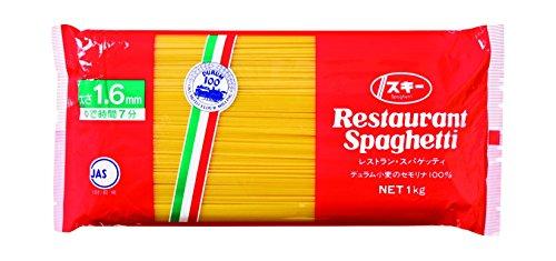 奥本製粉 スキー レストランスパゲッティ1�s×12袋