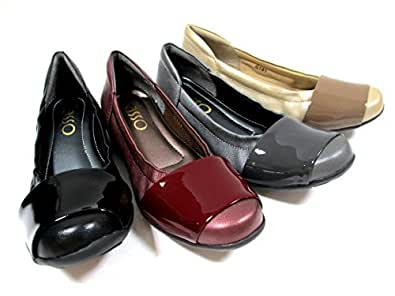 ルームシューズのようなフィット感!!【足の動きに合わせて屈曲するしなやかな靴底】 [サッソー] Sasso 101 レディース カジュアルシューズ フラット 革靴 リゾート靴 仕事靴 クシュクシュ ブラック・ET(グレー)・ベージュ (23.5, ベージュ)