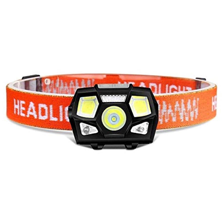 生活勇気のある含めるヘッドランプ超高輝度LEDランプ誘導ヘッドランプUSB充電式バッテリー、5モード防水ヘッドライト