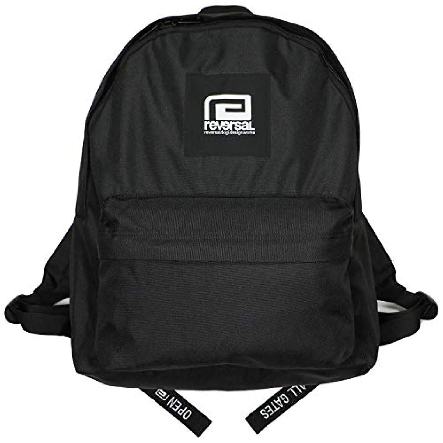大人完璧な限界(リバーサル) REVERSAL BOX LOGO BACK PACK (BAG)(rv19ss046-BK) バッグ 鞄 リュック デイパック 国内正規品