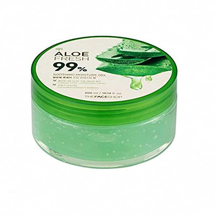 民主党ダイアクリティカル帰するザ·フェイスショップ The Face Shopアロエフレッシュスージングモイスチャージェル(300ml) The Face Shop Aloe Fresh Soothing Moisture Gel 300ml [海外直送品]