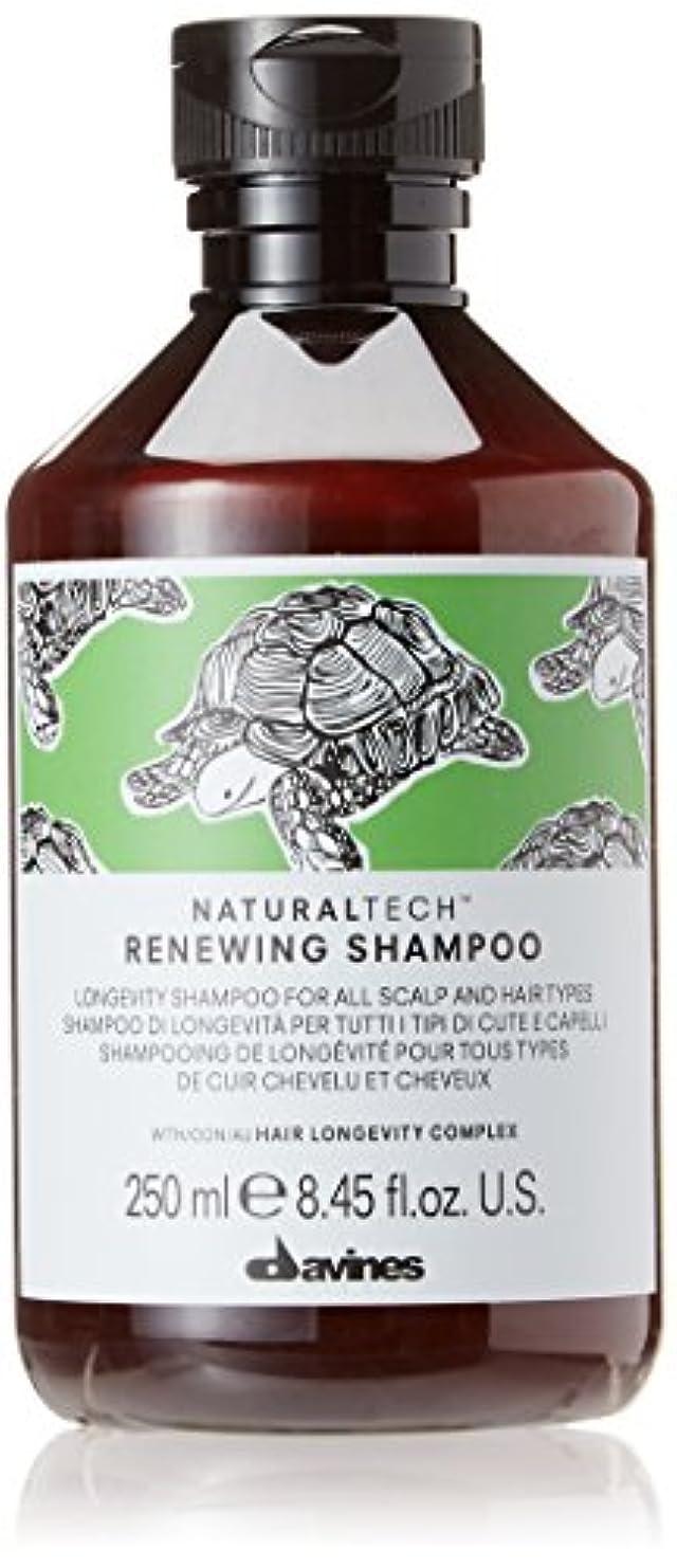 セーブ糞結び目ダヴィネス Natural Tech Renewing Shampoo (For All Scalp and Hair Types) 250ml/8.45oz並行輸入品