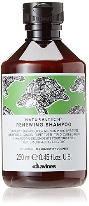 音楽を聴く突き出す保存ダヴィネス Natural Tech Renewing Shampoo (For All Scalp and Hair Types) 250ml/8.45oz並行輸入品