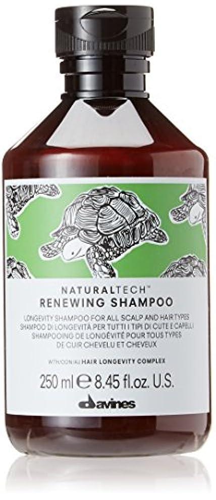 急流ポーチたぶんダヴィネス Natural Tech Renewing Shampoo (For All Scalp and Hair Types) 250ml/8.45oz並行輸入品