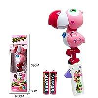 Xiton 赤ちゃん おもちゃ 音声 人形 知育玩具 ゆらゆら 可愛い 癒す ゃ プレゼント 大人気 フラミンゴ 鳥 赤