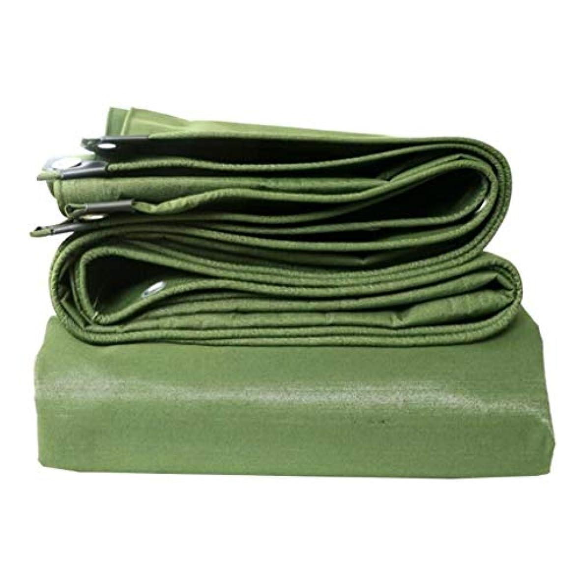 アウトドアセグメントもっと防水シート防水防水と紫外線保護ヘビーデューティ防水シート - 高密度織ポリエチレンと二重ラミネートプールカバーターポリン FENGMIMG (色 : 緑, サイズ さいず : 5MX5M)