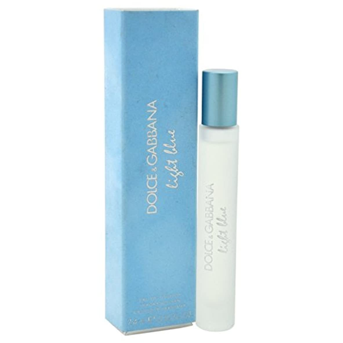 貸す電気スリルLight Blue (ライトブルー) 0.25oz (7.5ml) EDT Rollerball (ロールオン) by Dolce & Gabbana for Women