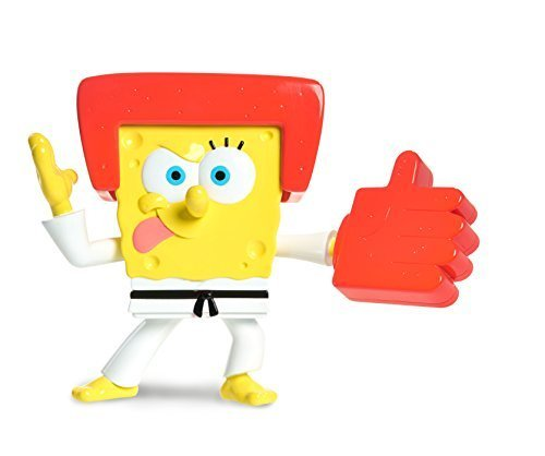 Spongebob Karate Chopper Action Figure by Just Play [병행수입품]-
