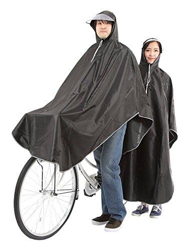 【krosta】グッジョブ!! 自転車用 ロングレインコート ポンチョタイプ フリーサイズ (ピュア...