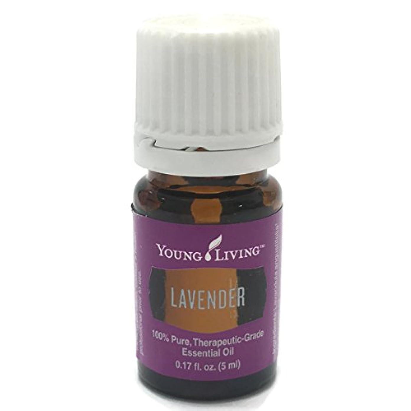 ひばり撃退するタフヤングリビング Young Living ラベンダー Lavender エッセンシャルオイル 5ml