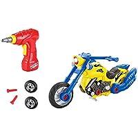 Take Apart Toys Motorcycleキットwith電源ドリル、ライトとサウンド – Kids Motorcycleキットセット( 20 Take Apartピース) by Shanhai