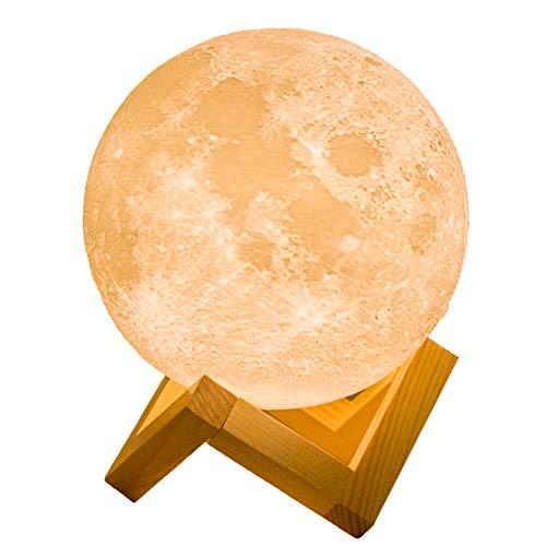 月のランプ 誕生日 プレゼント ナイトライト インテリア照明...