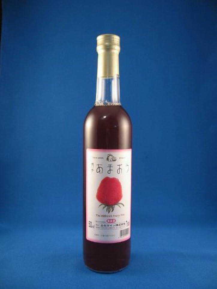 改善する意図専門用語【福岡県】高級いちご【博多あまおう】ワイン 立花ワイン あまおういちごワイン 500ml